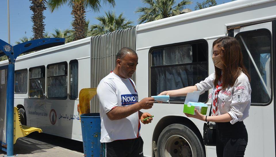 Photo of شركة النقل بالسّاحل تشرع في توزيع 100 ألف كمامة بمحطة سيدي يحي سوسة