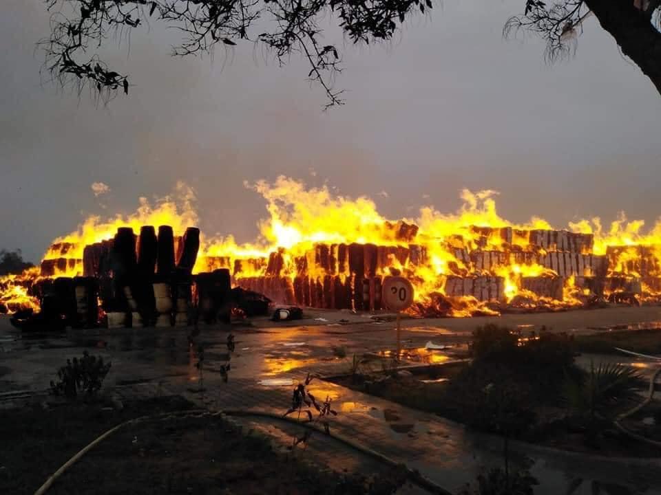 Photo of النفيضة حالياً تواصل عملية الاطفاء والوضع تحت السيطرة نسبيا