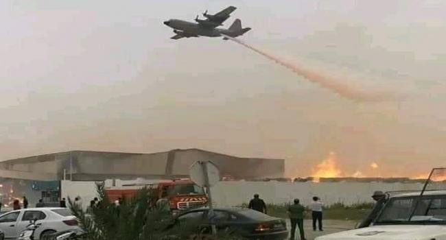 Photo of والية سوسة تستنجد بالجيش الوطني في اخماد النيران في مصنع الورق بالنفيضة