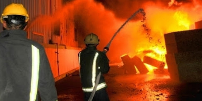 Photo of المنستير : الساحلين السيطرة على حريق بمصنع للزوارق