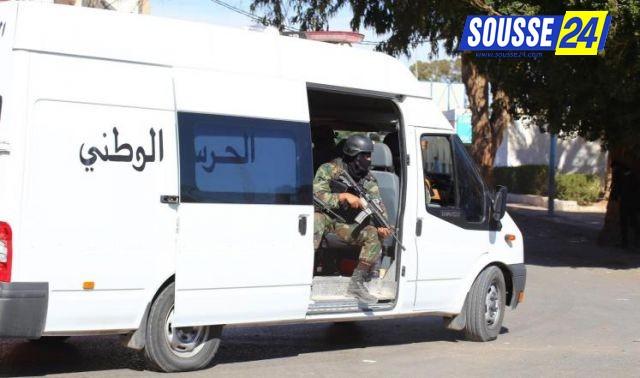 Photo of سوسة: إيقاف 20 شخصا مفتّش عنهم خلال حملة أمنية  لمنطقة الحرس الوطني بسوسة