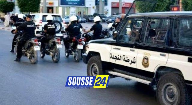 Photo of سوسة: إيقاف 26 مفتش عنه وحجز دراجات نارية