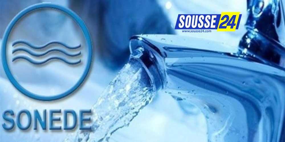 Photo of سوسة: توقيت استئناف التزود بالماء في مختلف الجهات