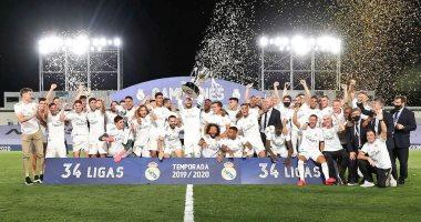 Photo of ريال مدريد: يتوج بلقب الدوري الإسباني