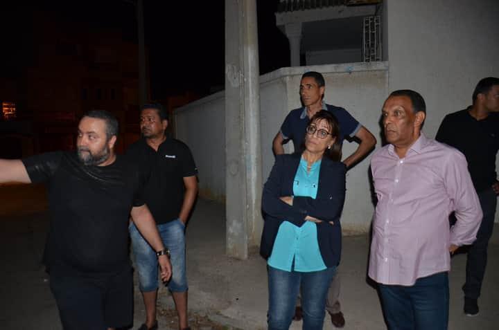 Photo of سوسة : بعد تتالي عمليات السرقة.. الوالية في زيارة تفقد إلى بعض الأحياء السكنية بالولاية