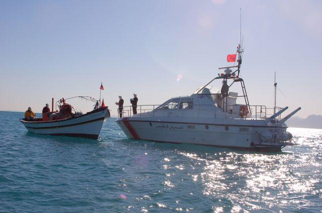 Photo of المهدية :  ضبط ثلاثة  أشخاص بصدد التحضير لاجتياز الحدود البحرية خلسة