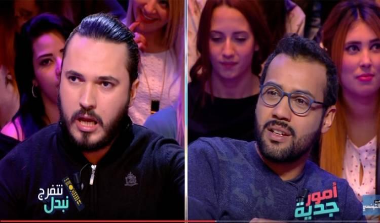 """Photo of بسام الحمراوي و كريم الغربي ينهيان تجربة """"الكورونيك"""" في البرامج التلفزية"""