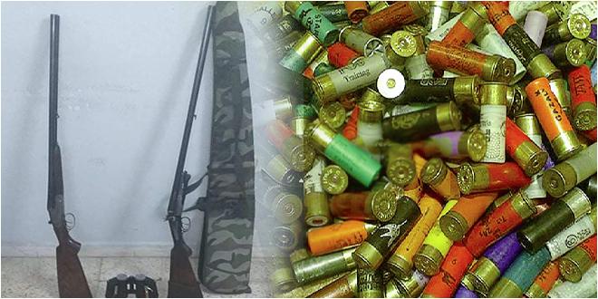 Photo of سوسة: مساكن مداهمة منزل و حجز بندقيتي صيد وكمية من الخراطيش