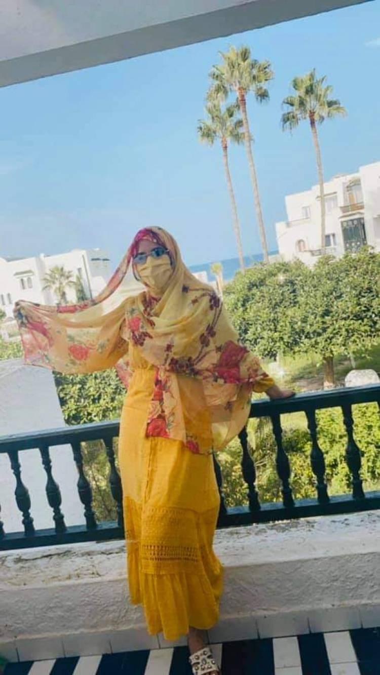 Photo of نيرمين صفر تنشر صور لها بعد صلاة الجمعة و تؤكد : دعوت الله