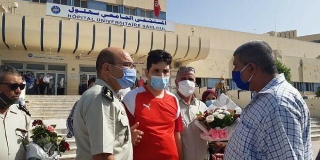 Photo of الوكيل رامي الإمام يغادر مستشفى سهلول