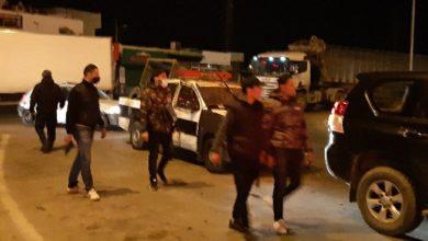Photo of سوسة: أعمال شغب في بير الشباك و محاولة إقتحام مركز شرطة حي العوينة